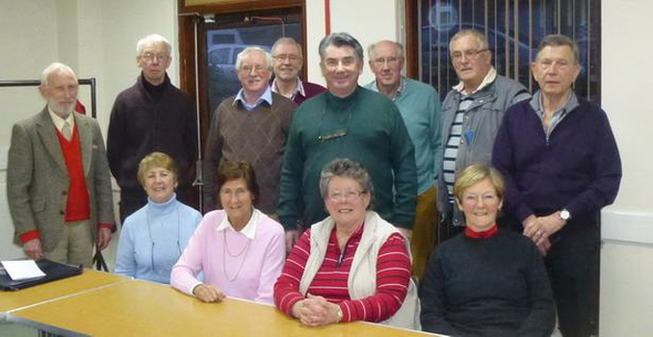 Photograph of the current Stirling Members' Centre Committee