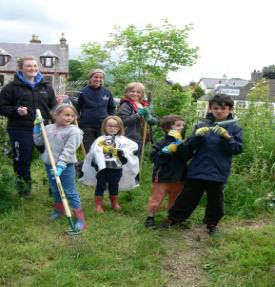 picture of Young Naturalists at Ben Lawyers