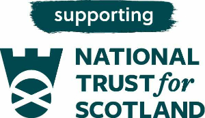 Supporting the National Trust for Scotland logo