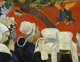 Gaugin's Vision of the Sermon